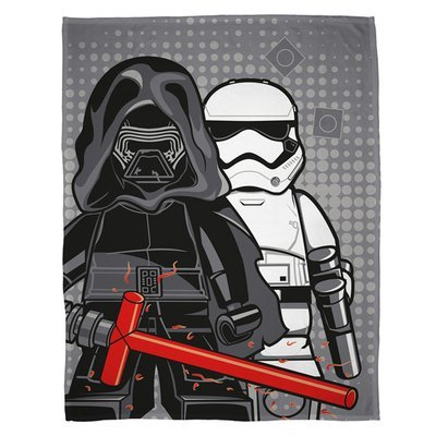 Star Wars Lego fleece deken