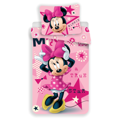 Minnie Mouse dekbedovertrek 140x200 - True Star