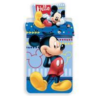 Mickey Mouse dekbedovertrek 140x200 - Hello