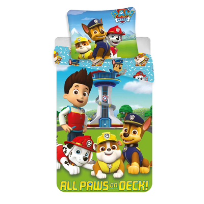 Paw Patrol dekbedovertrek 140x200 - All Paws