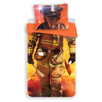 Brandweerman dekbedovertrek 140x200