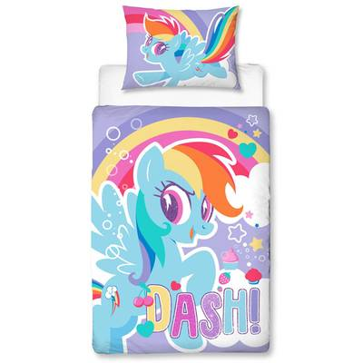 My Little Pony dekbedovertrek 120x150 - Dash