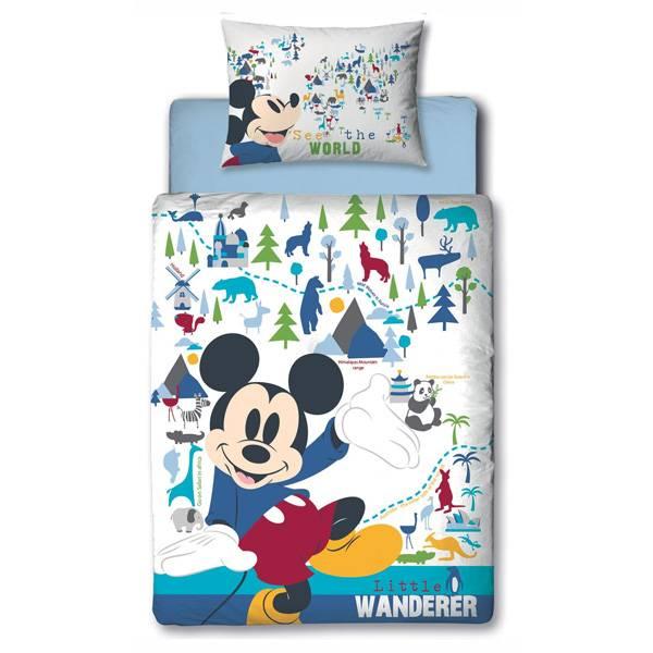Mickey Mouse dekbedovertrek 120x150 - Wanderer