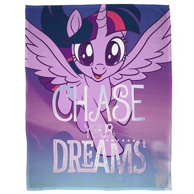 My Little Pony fleece deken - Chase your dreams