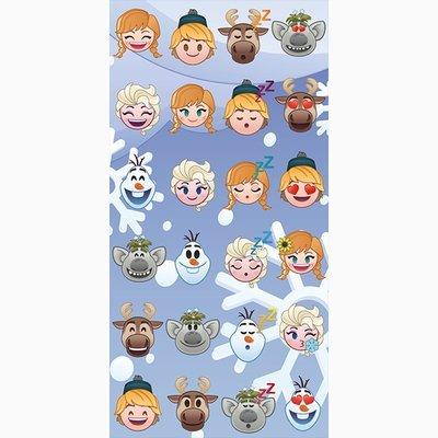 Emoji Frozen strandlaken