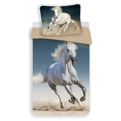 Paard dekbedovertrek 140x200