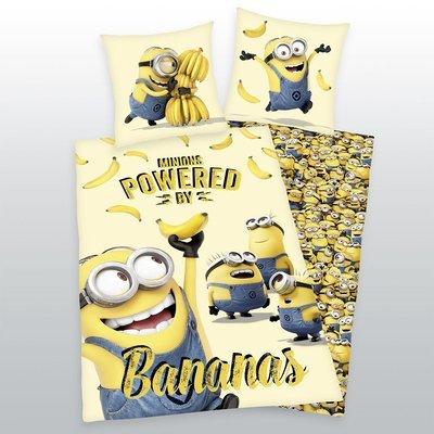 Minions dekbedovertrek 140x200 - Bananas