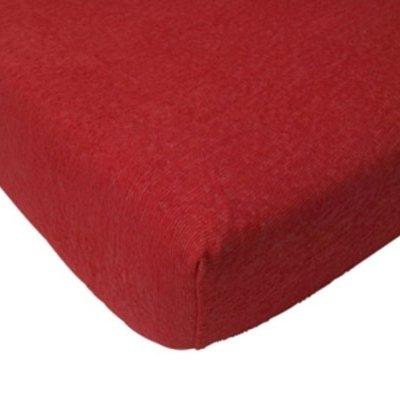 Badstof hoeslaken 60x120 - Rood