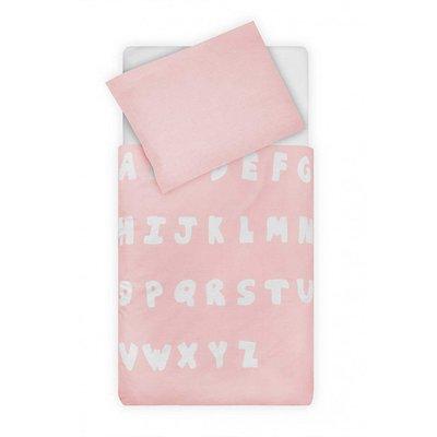 ABC dekbedovertrek 140x200 - Blush Pink
