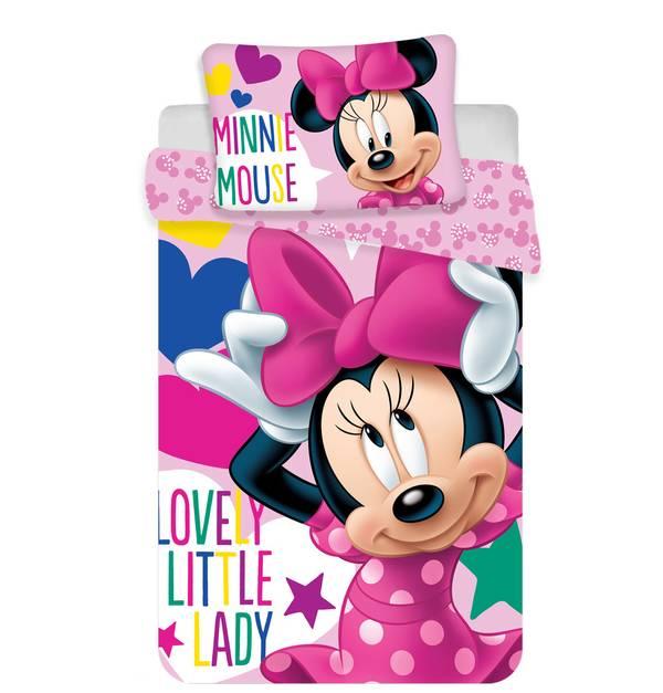 Minnie Mouse dekbedovertrek 100x135 - Little Lady