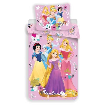 Princess dekbedovertrek 140x200 - Pink
