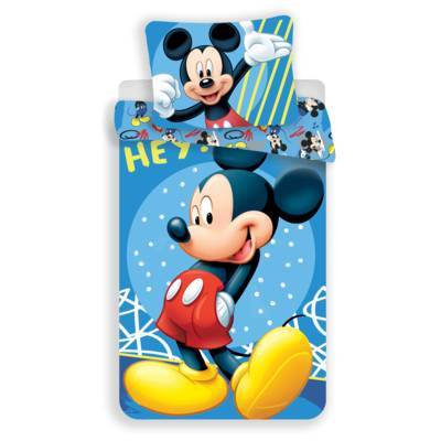 Mickey Mouse dekbedovertrek 140x200 - Hey